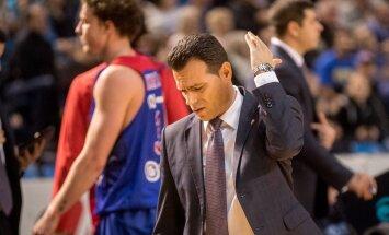 Moskva CSKA juhendaja Dimitris Itoudis