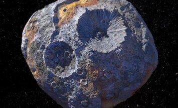 Selline võiks välja näha asteroid 16 Psyche.