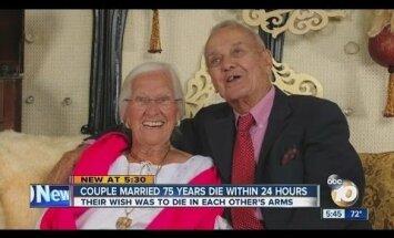 VIDEO ja GALERII, mis murravad südame: pärast pea 90 aastat kestnud ühist eluteed surid nad teineteise käte vahel