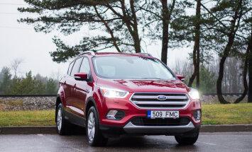 Motorsi proovisõit: Ford Kuga - kui sul ei ole maasturit, ei ole sind olemas