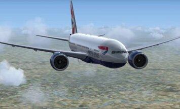 Kui kaua suudab reisilennuk lennata pärast mootorite täielikku kaotust?
