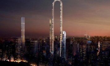 Сенсация в мире архитектуры: небоскреб-подкова в Нью-Йорке