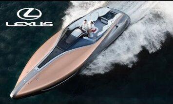 Midagi rikastele ja ilusatele: Lexus sai valmis oma esimese sportjahi