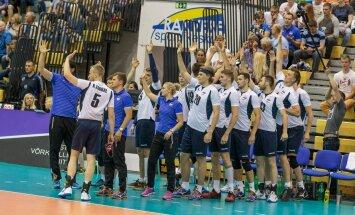 Eesti võrkpallikoondis alistas 19.06.2016 Rakveres 30 (14, 22, -23, 32) lähirivaal Austria ja kindlustas teist aastat järjest Euroopa liigas alagrupiturniiri võidu.