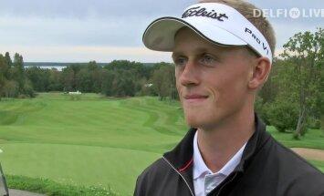 VIDEO: Värske golfimeister Sander Aadusaar saatuslikust hetkest: Carl ise tundis, et tegi kaks puudet ja ütles kohtunikule