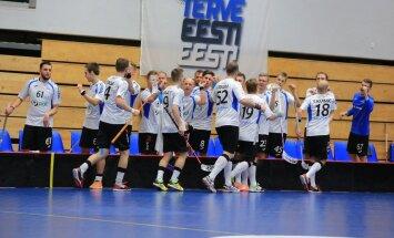 Saalihoki MM-valikturniir Eesti-Holland