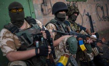 Pataljoni Donbass sõdurid