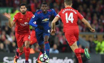 Paul Pogba Liverpooli meeste vastu
