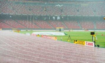 Pekingis sajab vihma