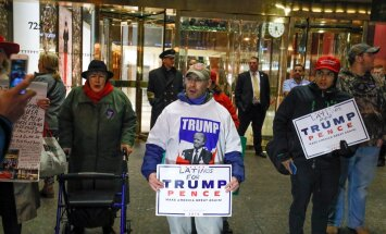 Donald Trumpi kodulinn New York valib presidendiks Hillary Clintoni