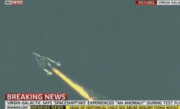 OTSEBLOGI: USA kohal kukkus alla Virgini kosmoselennuk  vähemalt kahe inimesega pardal