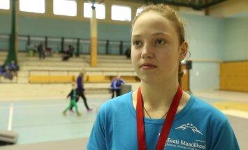 VIDEO: Noore maadleja Viktoria Vesso sihiks on olümpia
