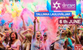 Sensatsiooniline suve algus: tuhanded inimesed korraldavad laupäeval Lauluväljakul värvidest flashmobi