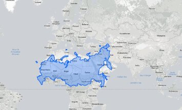 Maailma kaart on vale! Venemaa polegi tegelikult nii suur