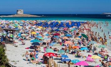 На знаменитом итальянском курорте запретят ходить на пляж с полотенцем