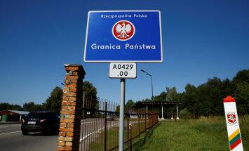 Предупреждение: почти на месяц возобновляется контроль на границе Польши с Литвой