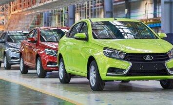 Reaalsus lööb valusalt: Lada sõiduautode müük kukkus 2015. aastal kolmandiku