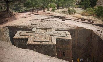 Эфиопия. Подземные храмы Лалибэлы