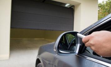 Garaažiukse aitab avada mugav automaatika