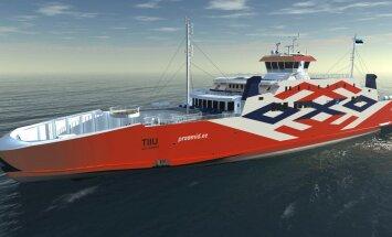 TIIU: Hakkab sõitma mandri ja Hiiumaa vahet. Ehitamisel Türgis. Hind 22,8 miljonit eurot.