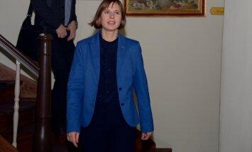 President Kaljulaid Ida-Virumaal Saka Cliff