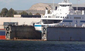 FOTOD: Liinile oodatud parvlaev Hiiumaa on alles Koplis