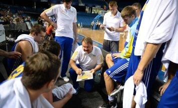 Ukraina korvpallikoondis Tallinna turniiril