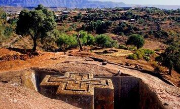Возможно, их построили ангелы: высеченные из скалы храмы Эфиопии