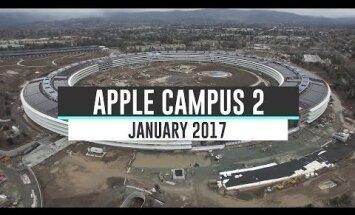 VIDEO: sedasi valmib Californias Apple`i uus hiiglaslikku UFOt meenutav peakorter