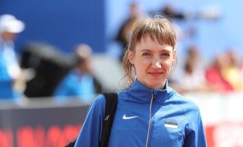 ФОТО: Молодые эстонские мамы не прошли квалификацию на чемпионате Европы