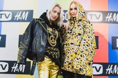 3bdf80e1164f ФОТО  Одежда сверкает, цены кусаются. В Таллинне представили коллекцию  Moschino x H M