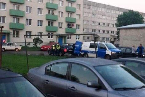 Paldiski roolijoodik ründas politseid