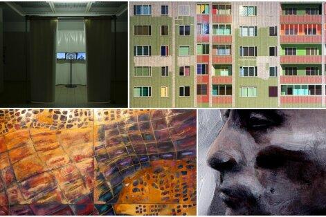 Valik Baltikumi noorte kunstnike võistlustöid
