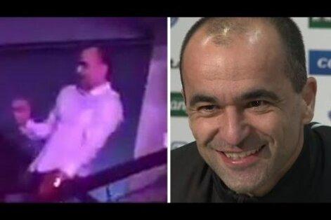 VIDEO: Evertoni peatreener pidi mängueelsel pressikonverentsil andma aru oma tantsuliigutuste kohta