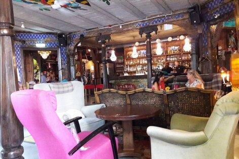 Valime Tallinna parimaid välikohvikuid: Manna La Roosa - kas vaid roosa muinasjutt?