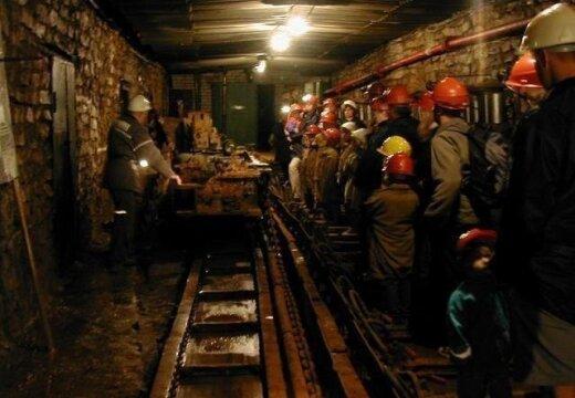 Kohtla-Nõmme Kaevanduspargi allmaa osa on külastajatele avatud