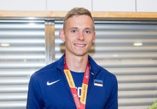 U20 EM-i hõbemedalist Erm jätkab õpinguid USAs