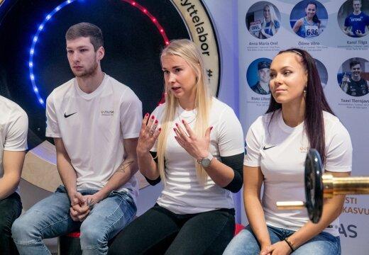 FOTOD   Järjekordsed andekad Eesti noored kergejõustiklased pääsesid Utilitase tiimi