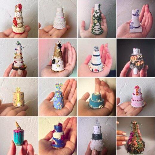 FOTOD: Instagrami-hitt! Rohkelt silmailu pakkuvad mikroskoopilised koogid löövad internetis laineid