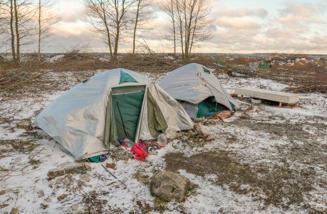Kodutute telgid Tallinnas
