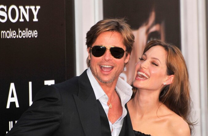 Brad Pitt ja Angelina Jolie