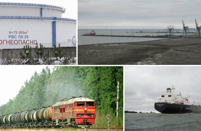 Venemaa lõpetab 2018. aastaks naftatoodete ekspordi läbi Balti riikide sadamate