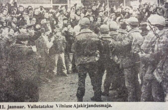 Vallutatakse Vilniuse ajakirjandusmaja