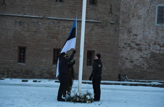 Lipu heiskamine Narvas 2017