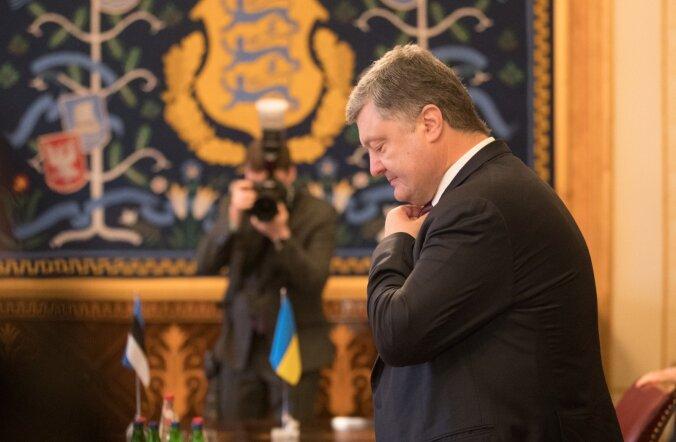Ukraina president Petro Porošenko, kes käis vähem kui kuu aega tagasi Eestis visiidil.