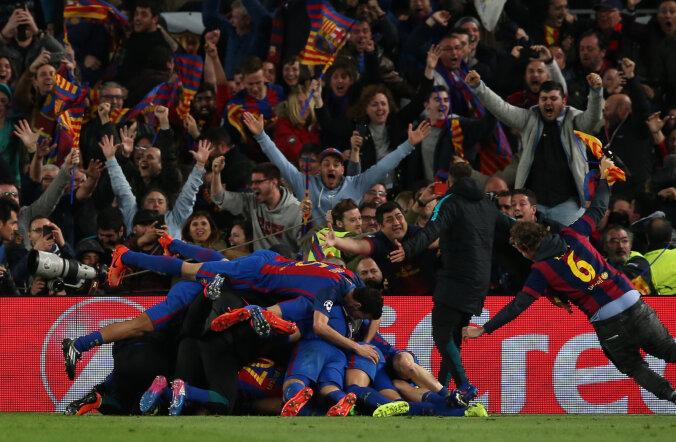 Korralik mürgel: FC Barcelona imevõidu järel registreeriti linnas inimtekkeline maavärin