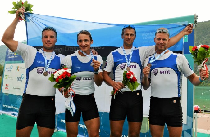 TAGASI POODIUMIL! Eesti neljapaat võitis MMil medali!