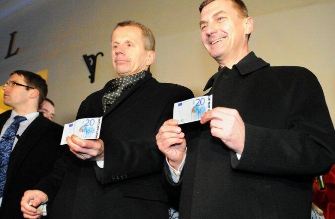 Peaminister Andrus Ansip teenis mullu 48 758 eurot ehk ligi 763 000 krooni.