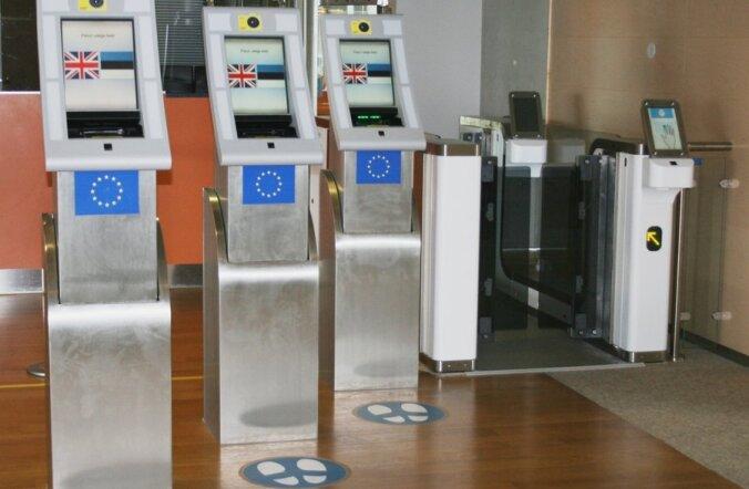 Lennujaama täisautomatiseeritud piirikontrollisüsteem
