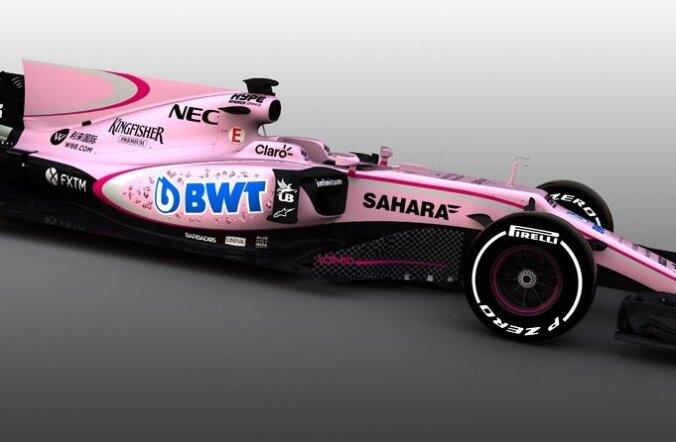 Force India uus vormel